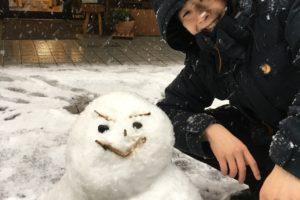 久しぶりの大雪!!【初ブログがオフとか!】